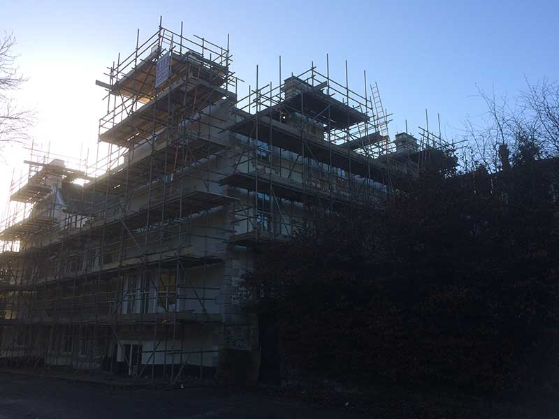 Whole house Scaffolding